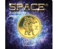 Презервативы SPACE №3 Sensory Близнецы