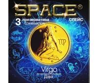 Презервативы SPACE №3 Combination  Дева