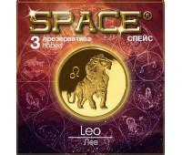 Презервативы SPACE №3 Ribbed Лев