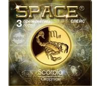 Презервативы SPACE №3 Dotted Скорпион