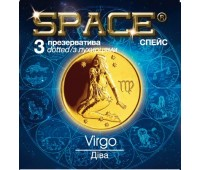 Презервативы SPACE №3 Dotted  Дева
