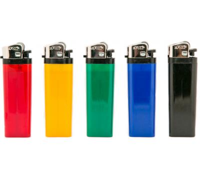 Зажигалка кремниевая цветная ТМ