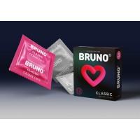 Презервативы BRUNO Classic №3 (кубик)