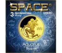 Презервативы SPACE №3 Strong Водолей